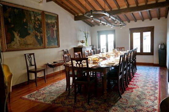 Residenza d'Epoca in Piazza della Signoria : Breakfast room