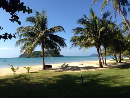 Holiday Beach Resort: View from the chalet