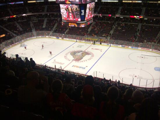 Canadian Tire Centre: Rink View from Section 306