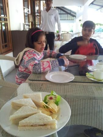 IORA - The Retreat,Kaziranga: cold sandwich - could have been better
