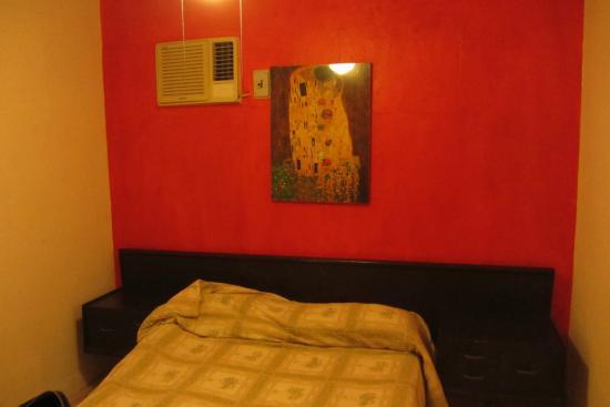 Mundo Maya Hostel : Camera da letto