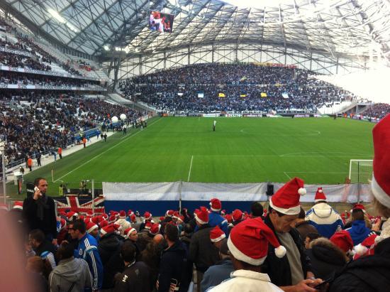 D cembre 2014 lille apporte le cadeau de no l photo de for Porte 7 stade velodrome