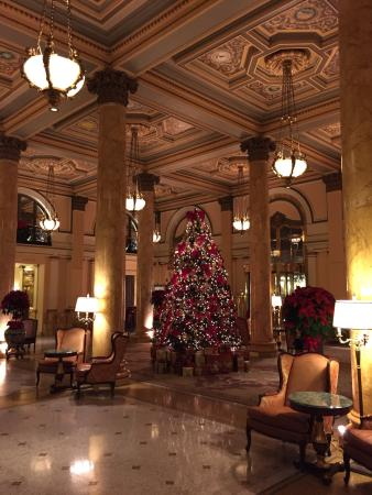 Christmas Time In Washington Dc.Lobby Of The Willard At Christmas Time Picture Of Willard