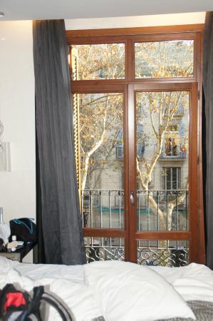 Exe Ramblas Boqueria: נוף מהחדר