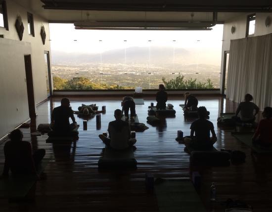 Pura Vida Retreat & Spa: The Lila yoga room is phenomenal