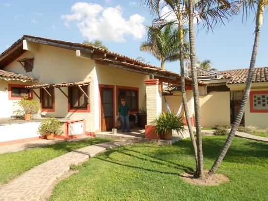 Hotel Rancho La Esmeralda: Terraza