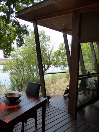 RiverDance Lodge : Außenbereich vom Chalet