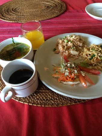 Restu Bali Hotel: 朝食