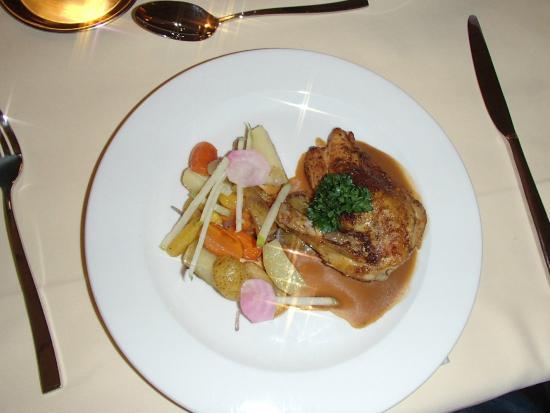 Hotel Valaisia: Kerst dinner hoofd gerecht
