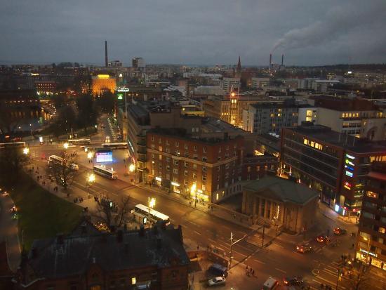 Kaunis näkymä yli Tampereen