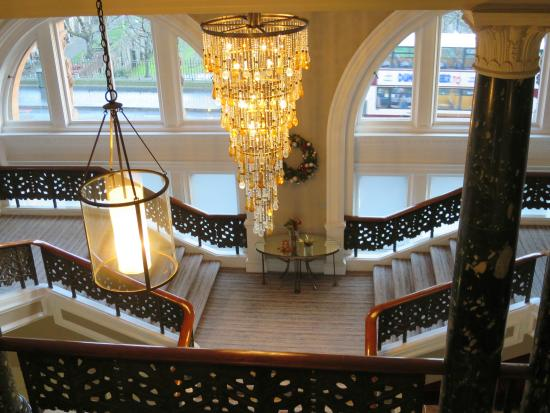 Hotel Stairs Picture Of Waldorf Astoria Edinburgh The Caledonian