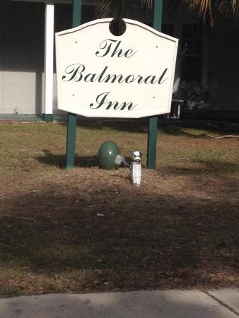 Balmoral Inn: 12/20/14 thru 12/26/14