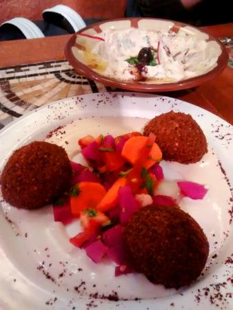 The Cedar Tree: The Falafel in question