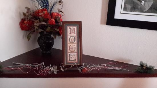 Fairfield Inn & Suites Clarksville: Decorations done by staff at this hotel