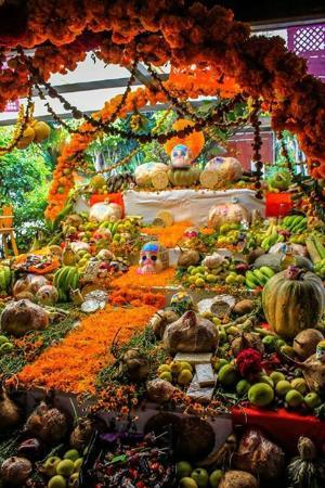 Como es costumbre... nuestro bello altar de muertos!