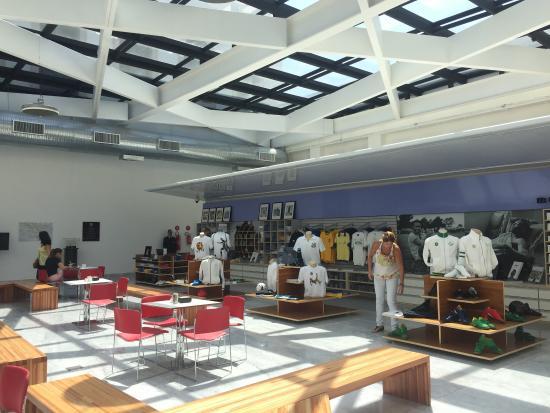 00ed4b2a544 Loja do museu - Foto de Museu Pelé
