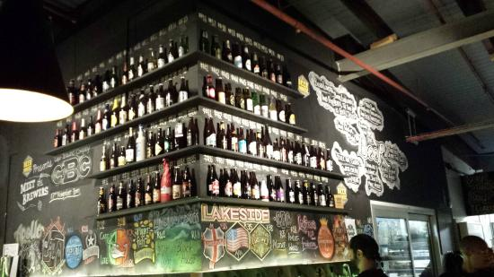 Beerhouse on Long: The beer selection
