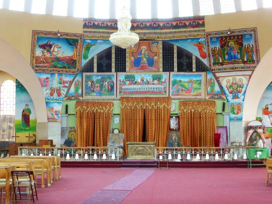 St Mary of Zion: Inside