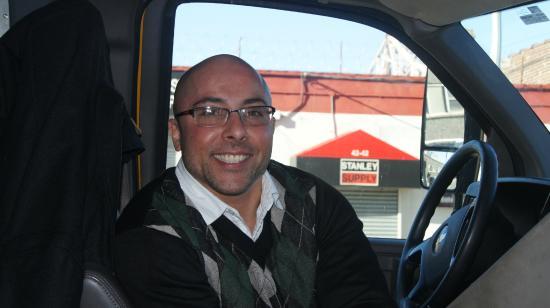 Z New York Hotel : Ramon, einer der ganz lieben Shuttle Bus Fahrer