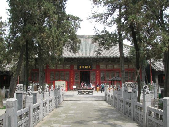 Guanlin Temple (General Guan's Tomb) : Храм Гуань Линь