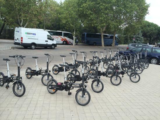 Mobeo Smart Transport: Nuestra flota de bicis eléctricas preparada para un tour en bici