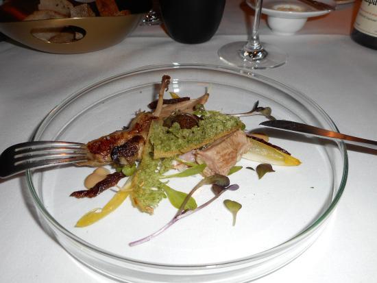 Restaurant Delicees: Gebraden Kwartel