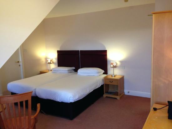 Drumoig Golf Hotel: Extremely comfortable beds