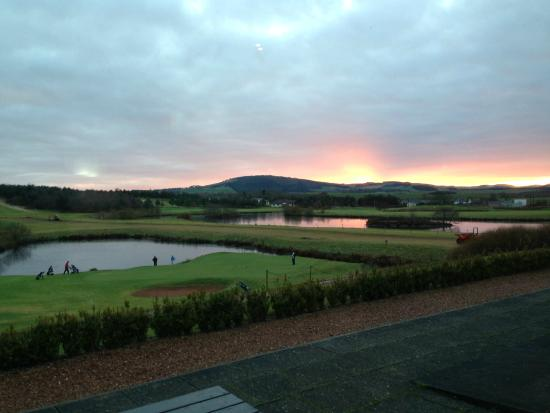 Drumoig Golf Hotel : Stunning views of the golf course and Fife countryside