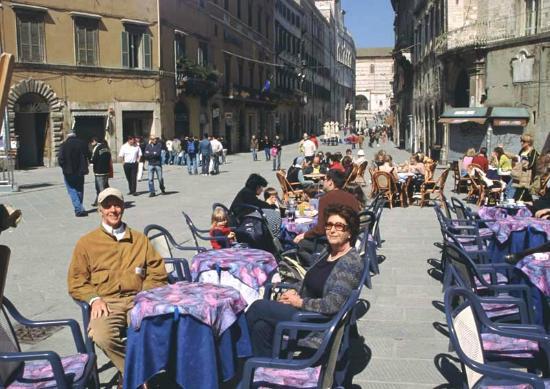 Galleria Nazionale dell'Umbria : ristoro dopo la lunga visita alla Galleria