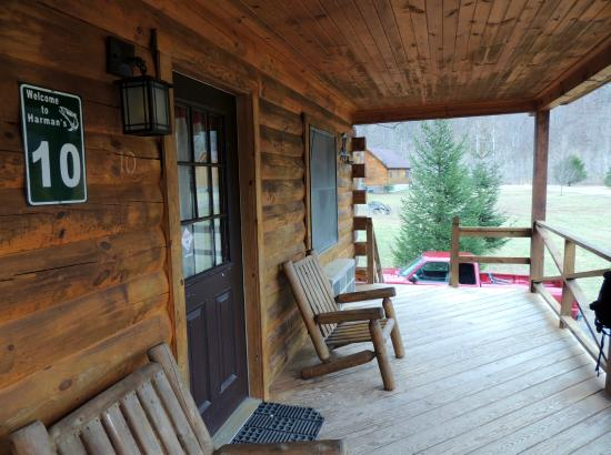 View Of The Front Porch Cabin 10