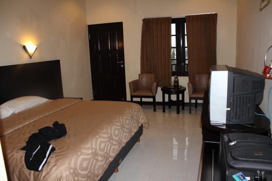 Bromo Cottages Hotel: Hotelzimmer