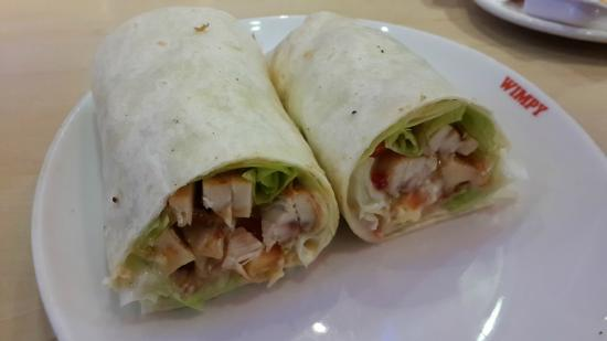 Wimpy: Sweet chili chicken wrap