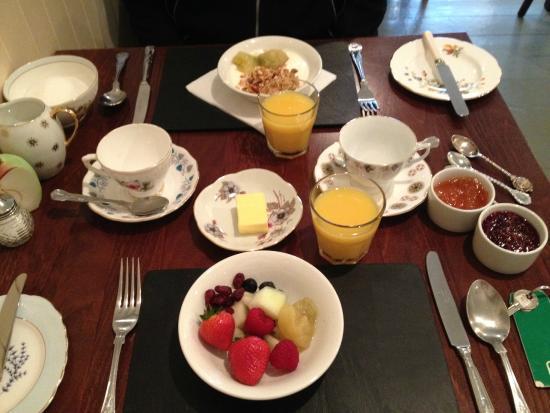 The Glenview: Desayuno