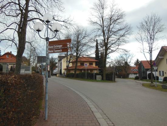Hotel Tanneck: Городок