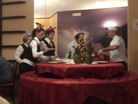 Hotel Miravalle: Christmas Day 2014