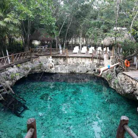 Barcelo Maya Beach: Cenote dic 2014