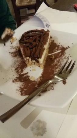 Degustibus : Cheesecake al cioccolato consigliatissima