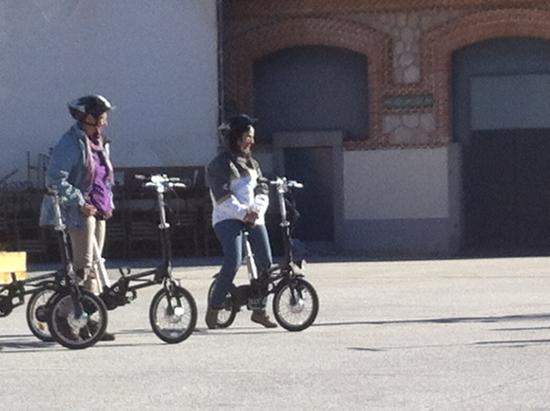 Mobeo Smart Transport : Aprendiendo a montar