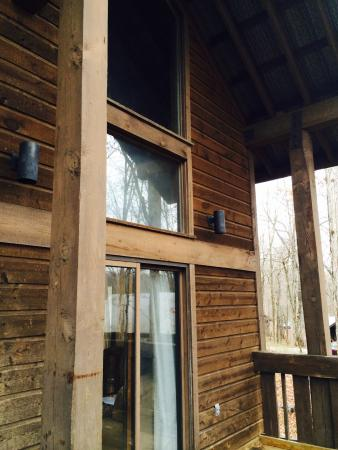 Abe Martin Lodge: Family Cabin back porch review ...