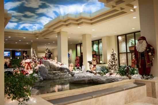 Christmas Decor Picture Of Moody Gardens Hotel Spa Convention Center Galveston Tripadvisor
