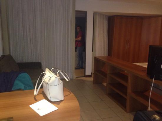 Mirador Praia Hotel: Saleta