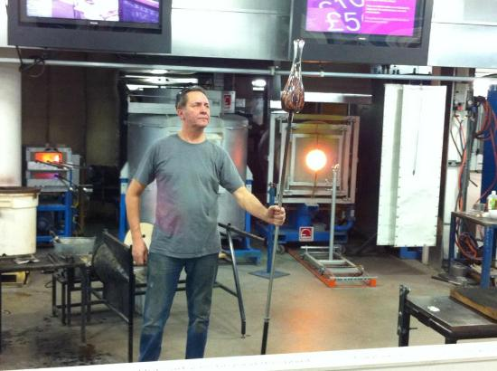 National Glass Centre: Glass Blowing