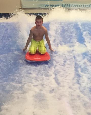 Owen age 11 loved fantasy surf