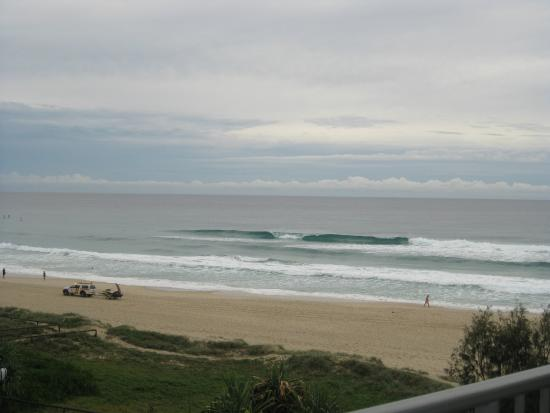 Surfers Royale: It's just after dawn and the surfs are rolling in