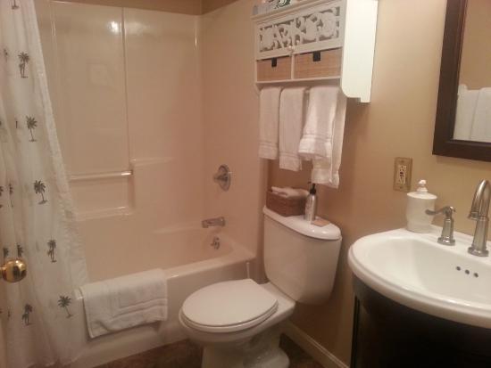 Yagna Inn: bathroom, room #2