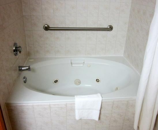 Quality Inn Conference Center Citrus Hills: Jacuzzi tub-shower