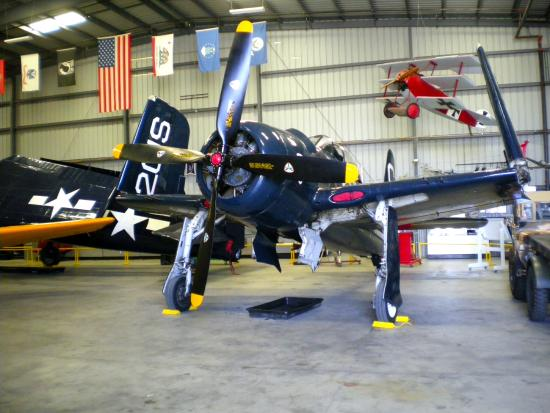 WWII Aviation Museum: Grumman F-8F Bearcat