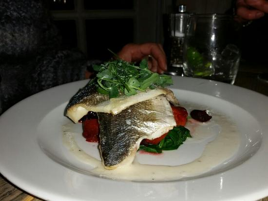 The Cromwell Cottage: Sea Bass