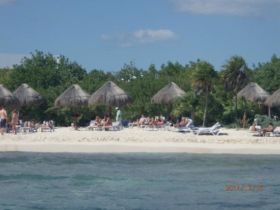 Beach area, nice sand, reasonably kept