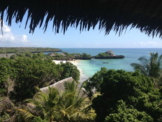 The Sands At Chale Island: Chale Beach from above